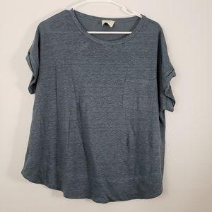 Wrap London 100% Linen Short Sleeve T-shirt